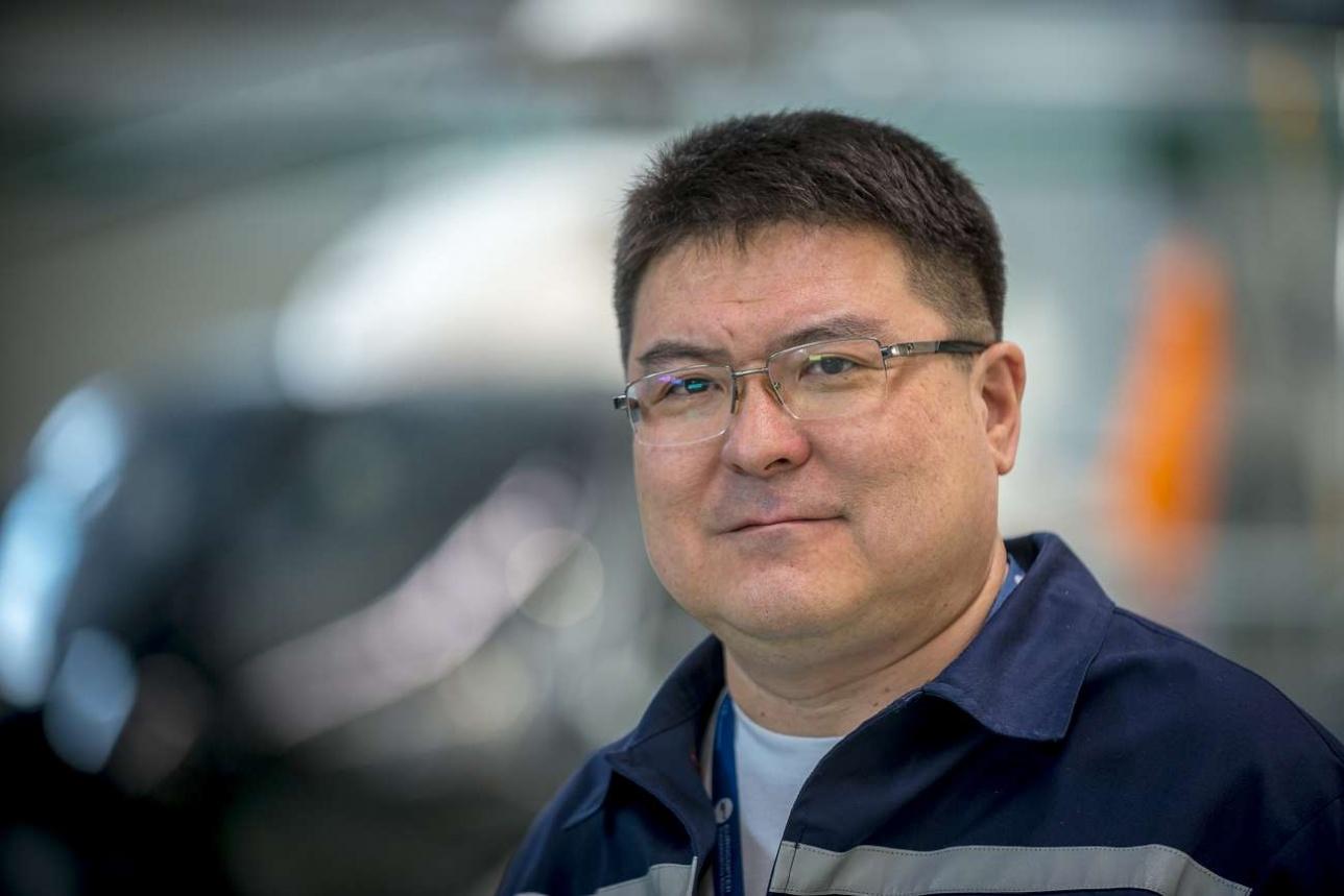 Русланбек Исетов, руководитель технического отдела Eurocopter Kazakhstan Engineering