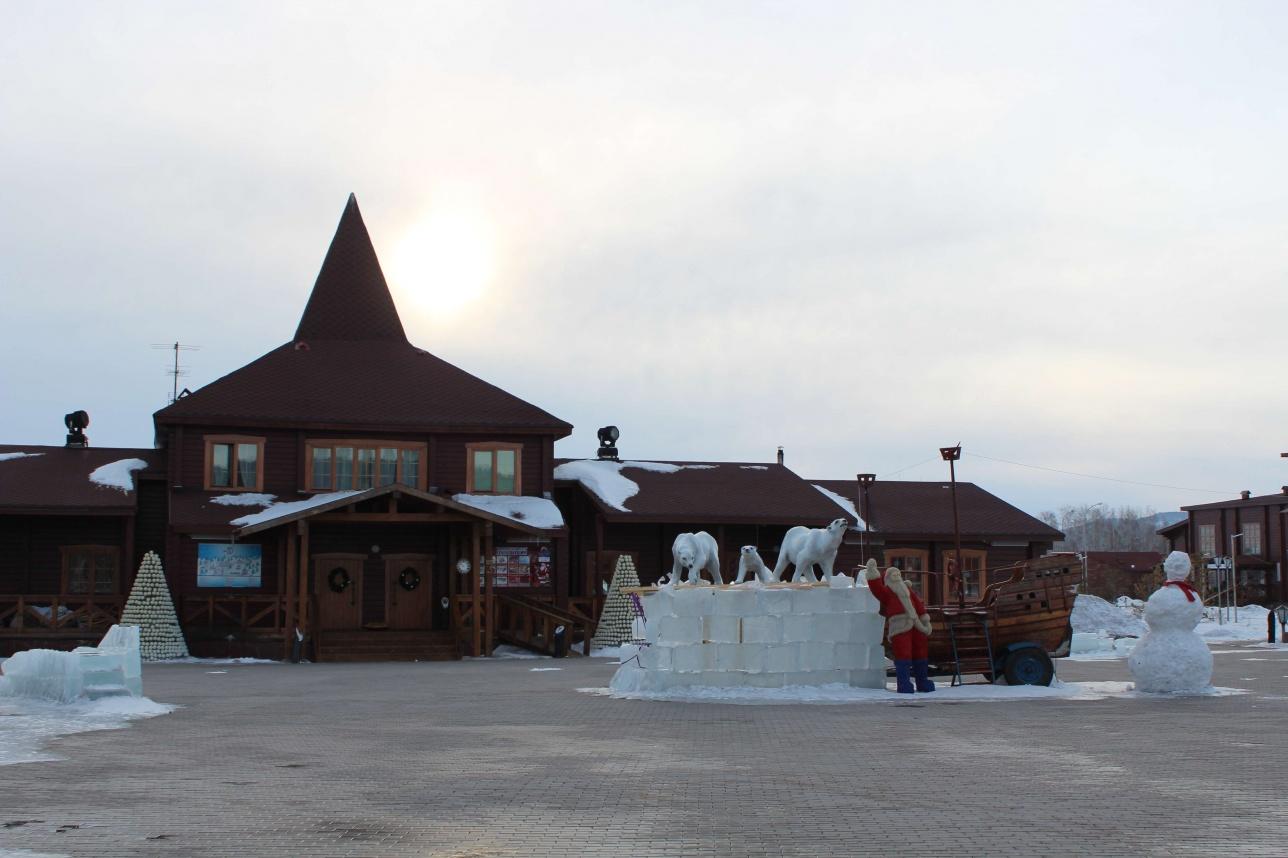 Резиденция Санта-Клауса снаружи