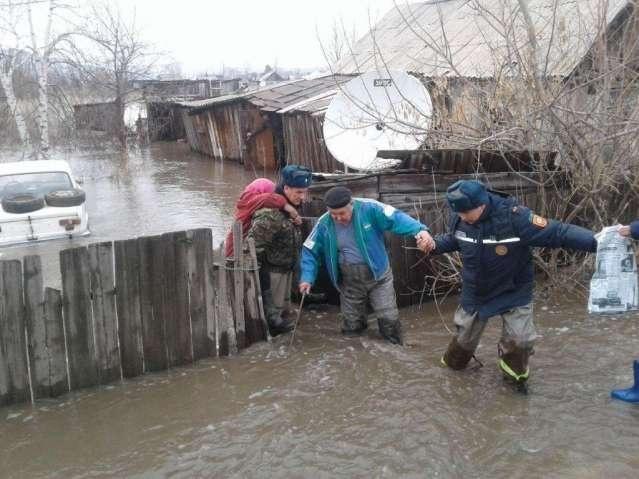 Паводок в Восточно-Казахстанской области