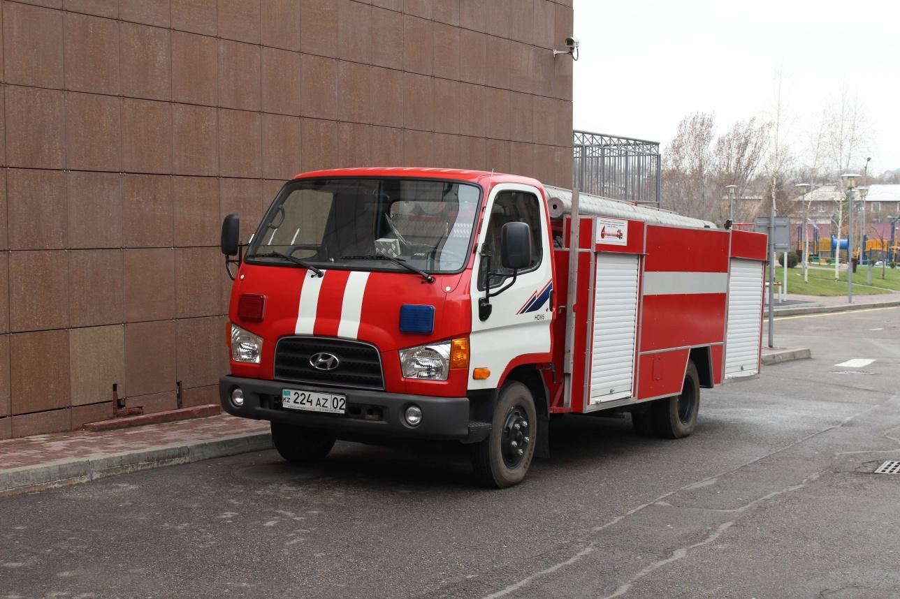 ТРЦ обладает собственным автопарком пожарной техники