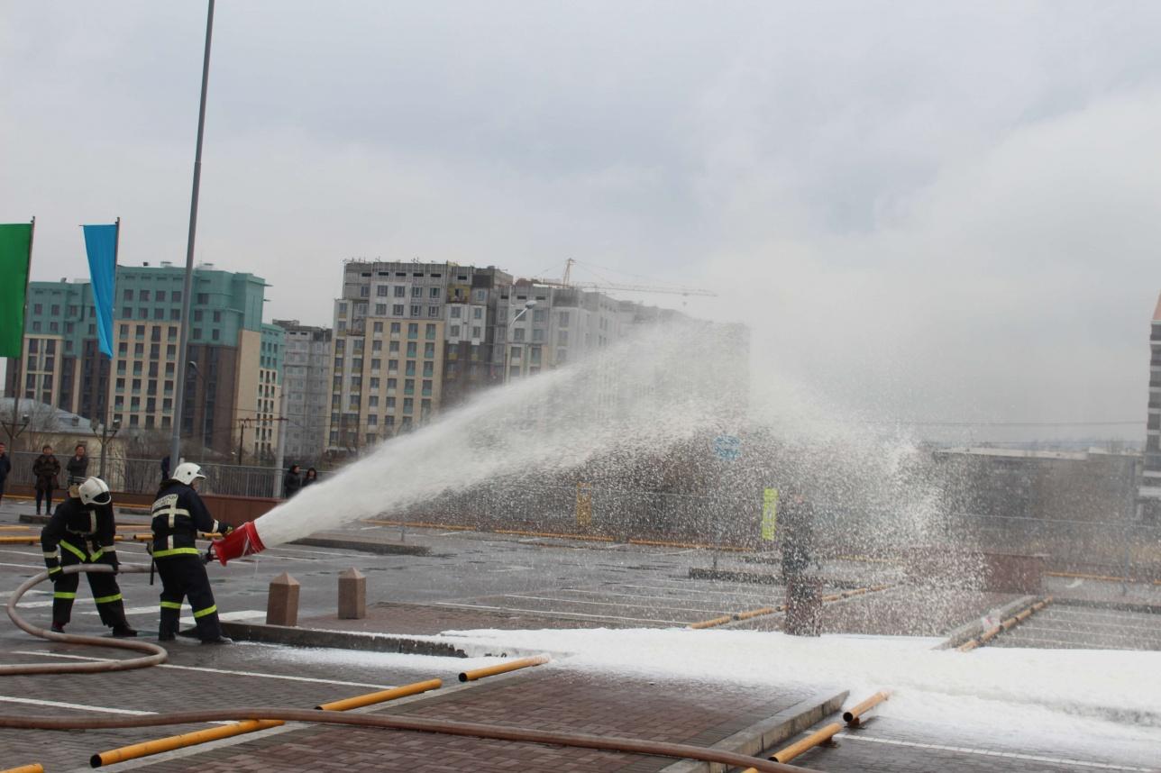 В ТРЦ круглосуточно дежурит пожарный расчёт