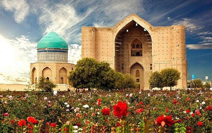 Түркістандағы Қ.А.Яссауи кесенесі