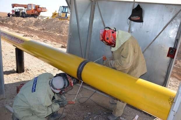 Строительство распределительных газовых сетей