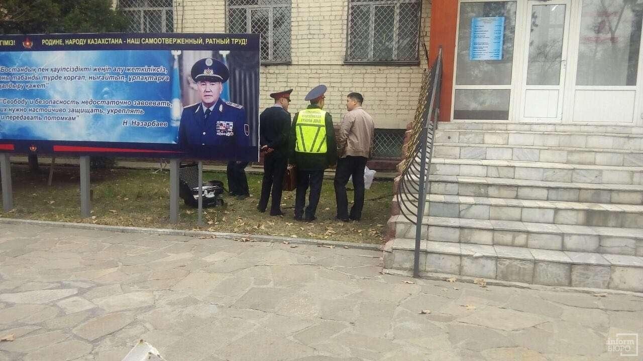 Здание областного военкомата в Талдыкоргане