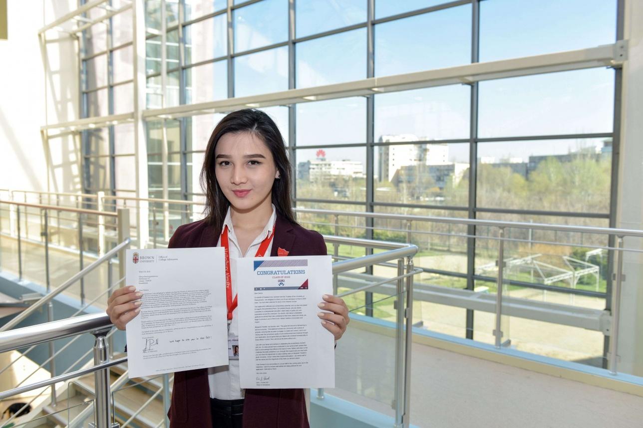 Выпускница Haileybury Almaty 2018 Дария Баймагамбетова