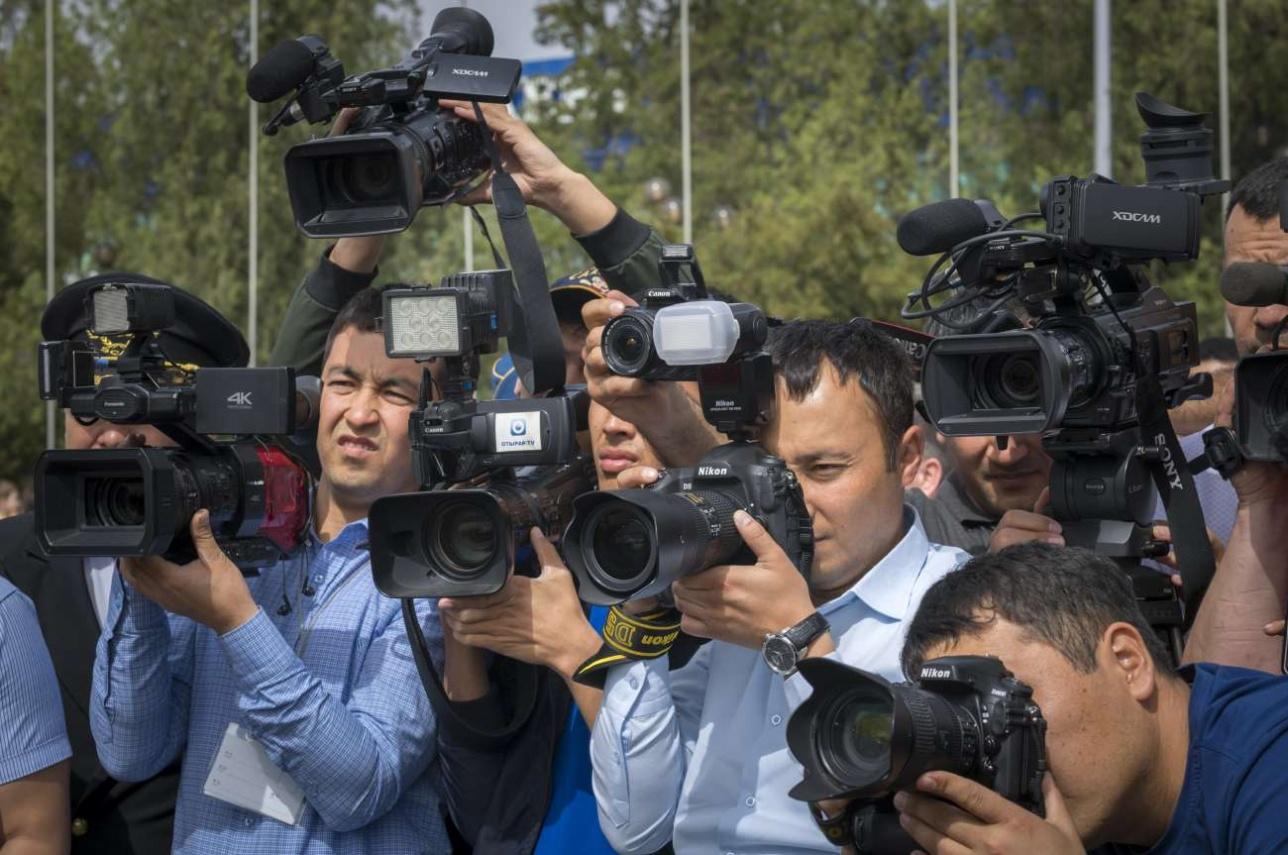 Торжественную церемонию освещали шымкентские и алматинские журналисты