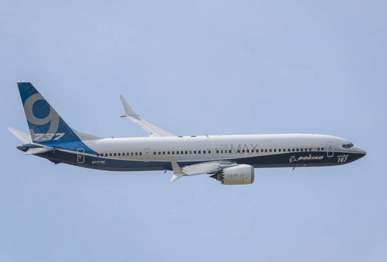 Boeing 737 MAX на авиасалоне Le Bourget - 2017