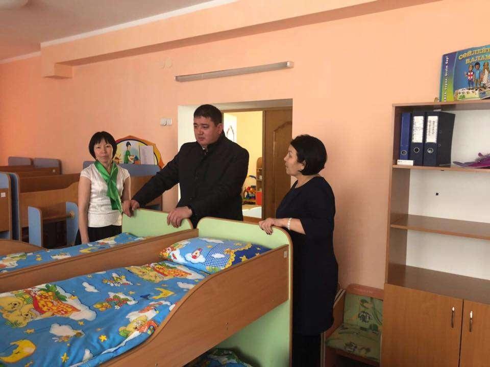 Ерлан Каналимов посетил ряд образовательных объектов