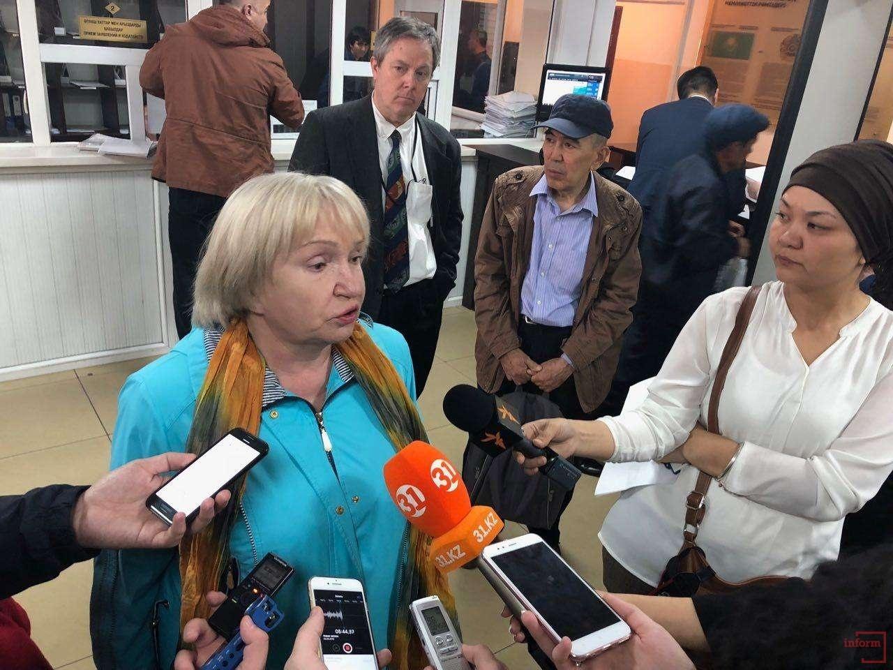 Общественница Тамара Калеева поддержала Ratel.kz