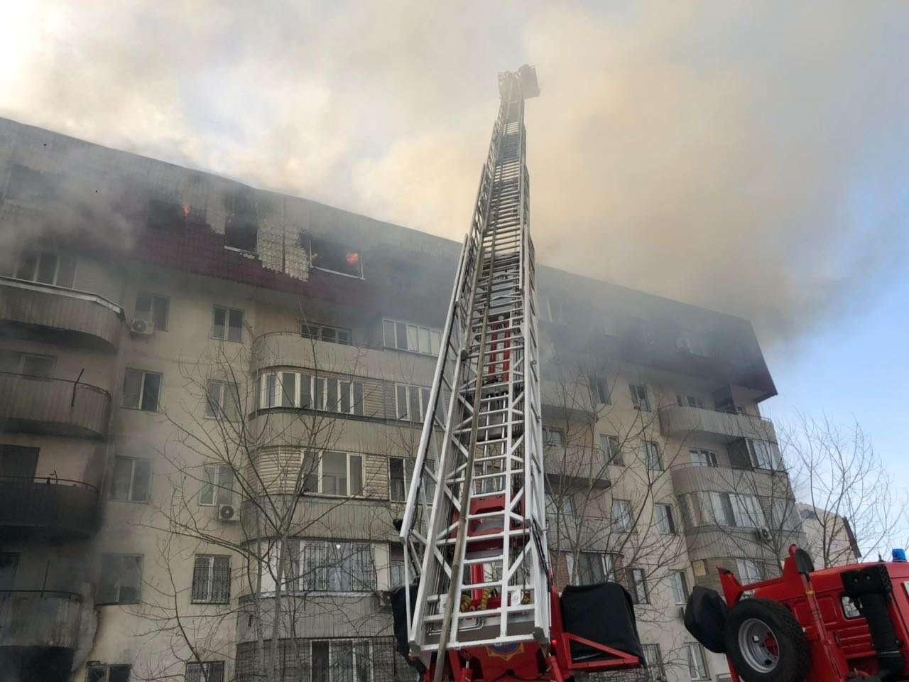 Площадь пожара составила почти 1000 квадратных метров