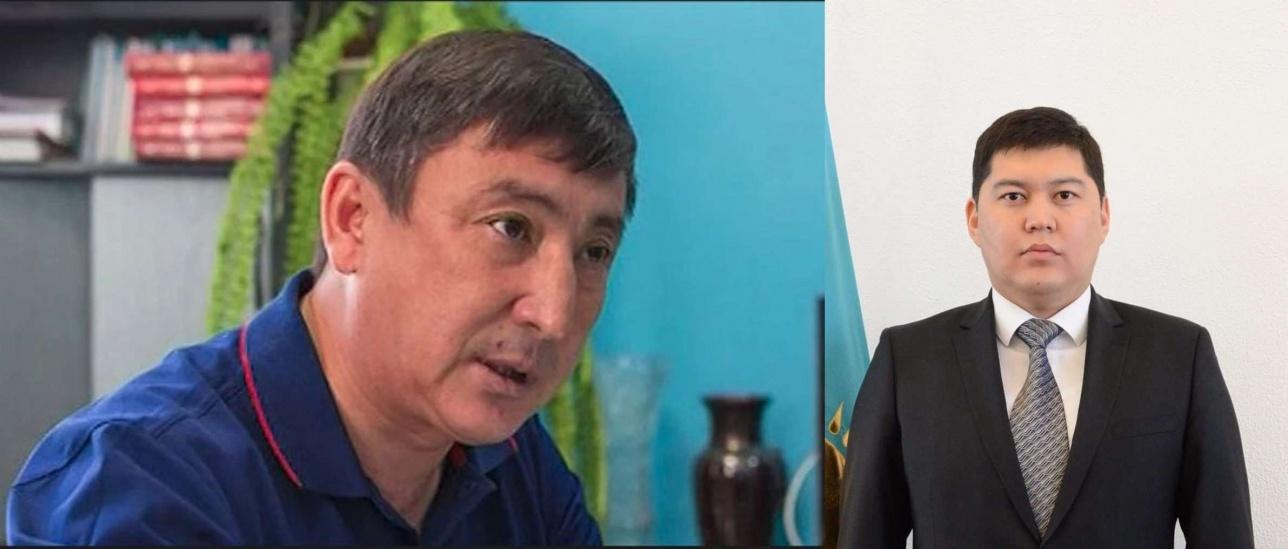 Бауржан Курманбаев и Куат Тумабаев