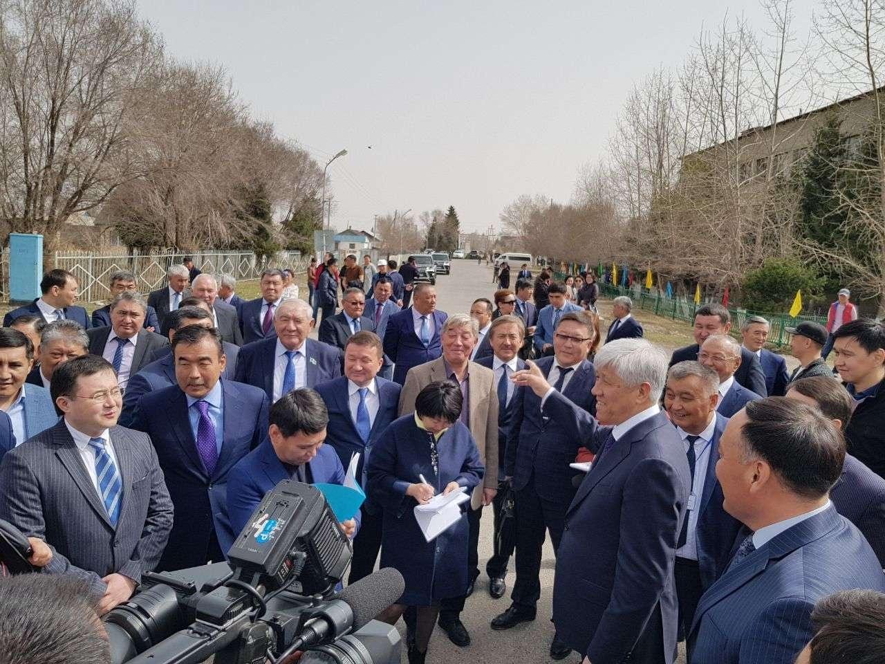 В церемонии открытия принял участие аким Алматинской области