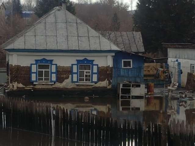 В Зыряновском районе ещё стоит вода