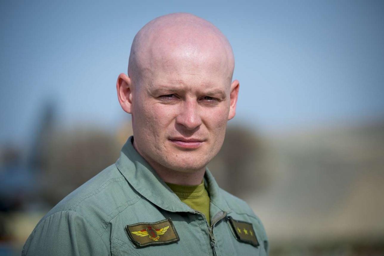 Александр Орёл, командир авиационного звена, старший лейтенант