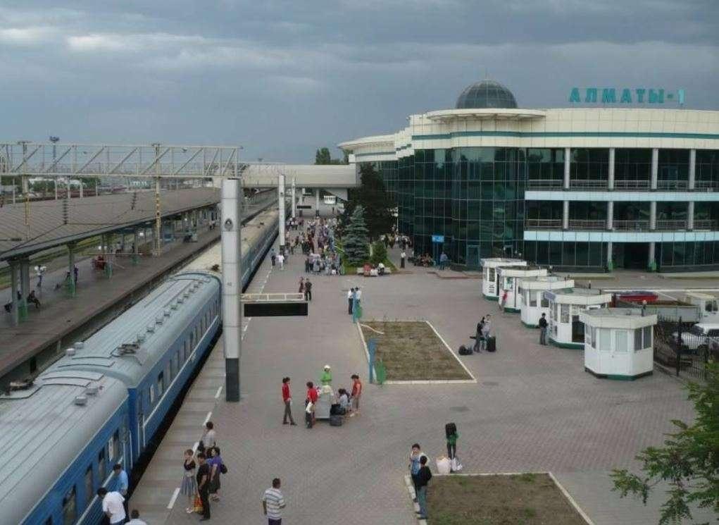 Железнодорожный вокзал Алматы-1