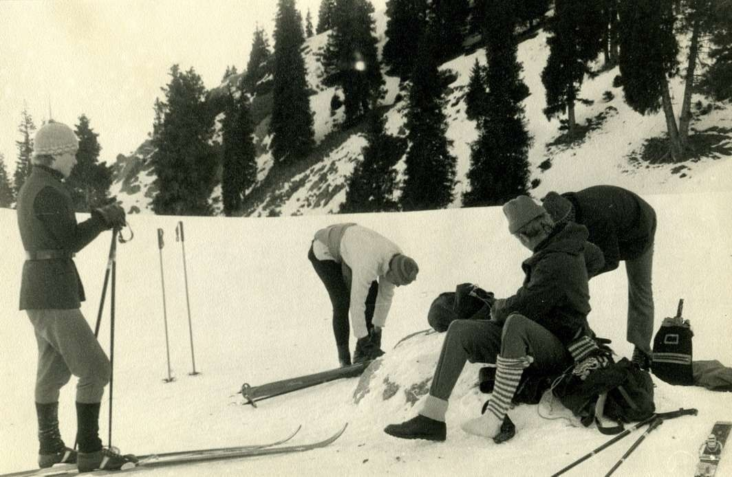 Некогда горнолыжный курорт Кок-Жайляу, со временем стал просто горным