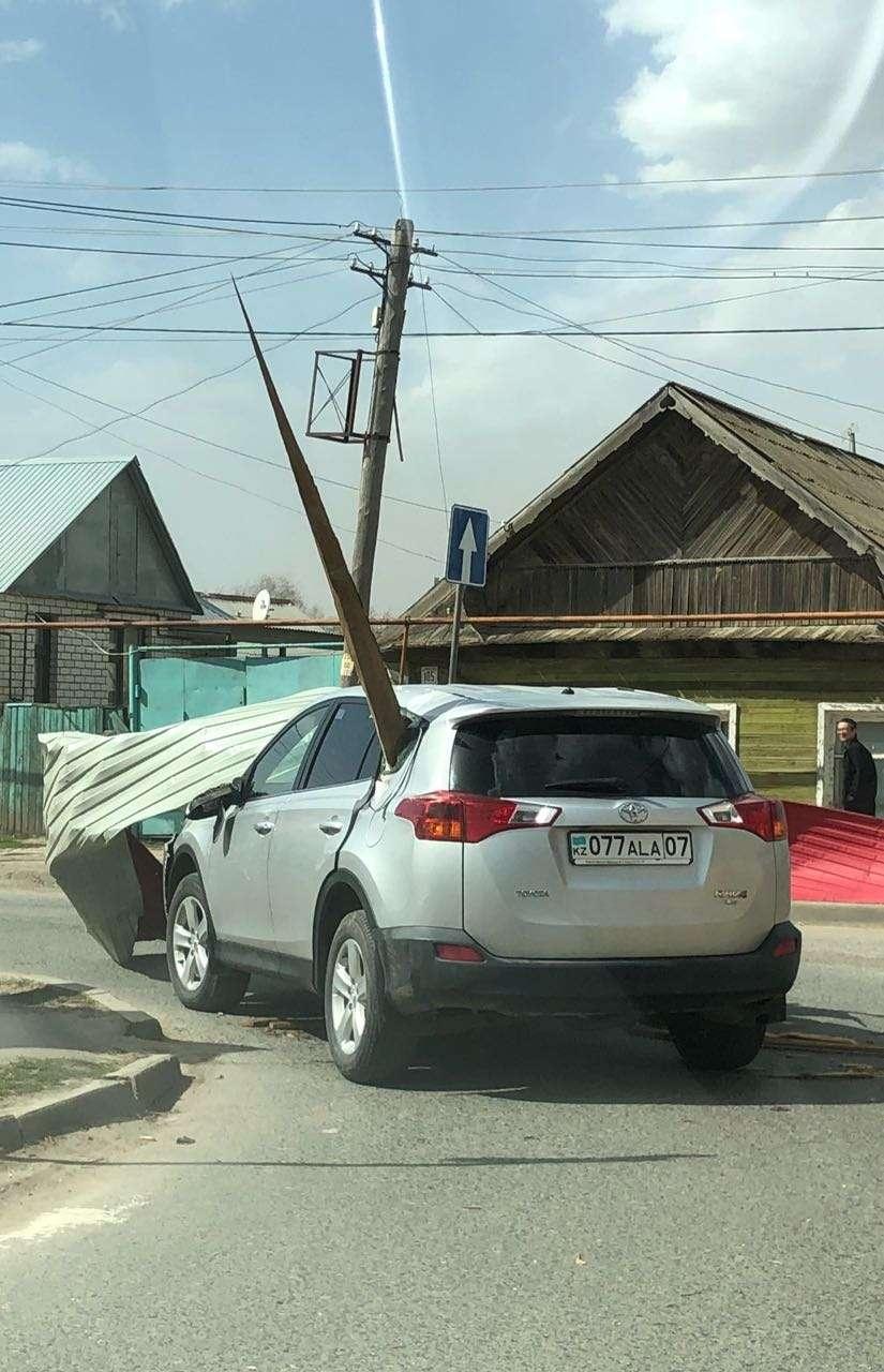 Ураган в Уральске