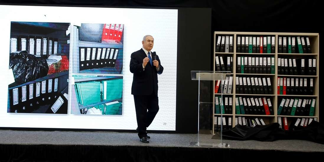 Нетаньяху рассказал о полтонне материалов о ядерной программе Ирана, добытых израильской разведкой