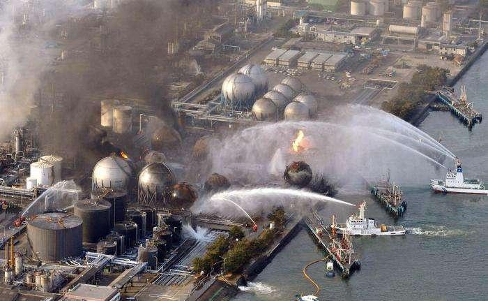2011 жылы, Фукусима АЭС-тегі жарылыс
