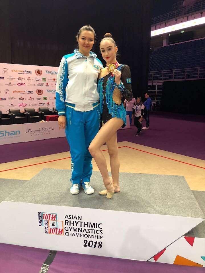 Алия Юсупова и Алина Адильханова