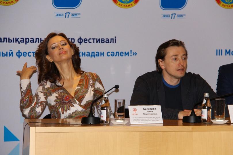 Ирина и Сергей Безруковы