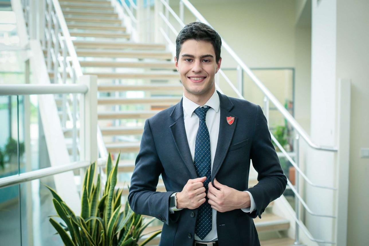 Владимир Киселёв, выпускник школы Haileybury Almaty 2018 года