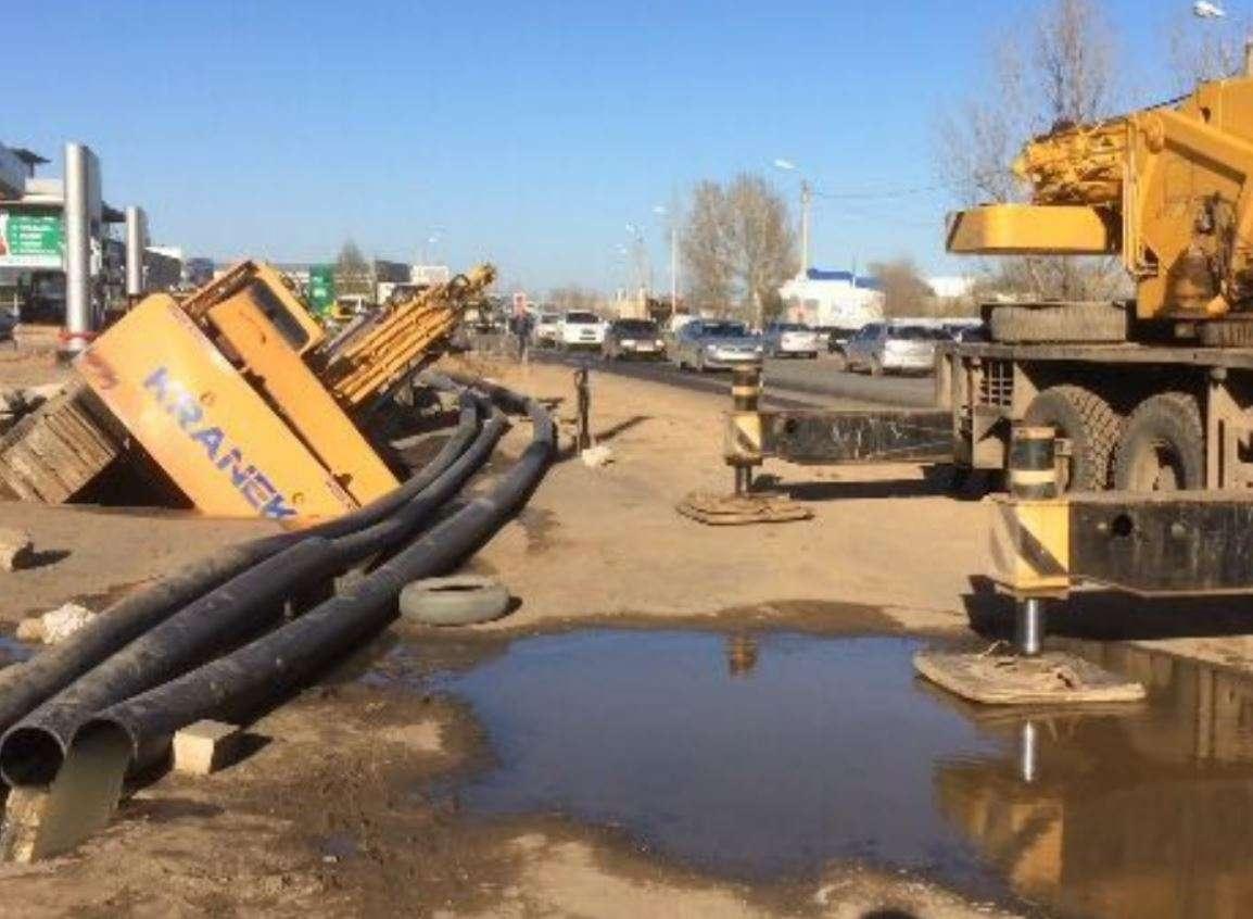 Водоснабжение в Уральске восстановили после аварии на коллекторе