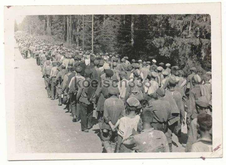 Екінші дүниежүзілік соғыстың аяталуына төрт ай қалғанда 3 млн 600 мың адам фашистердің тұтқында отырған