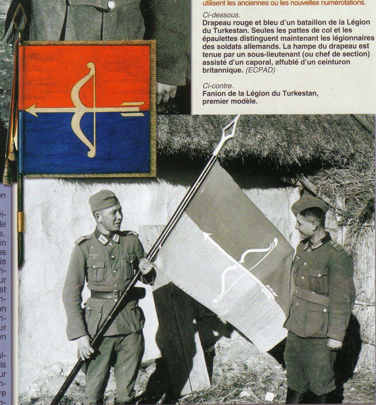 Түркістан легионының байрағы