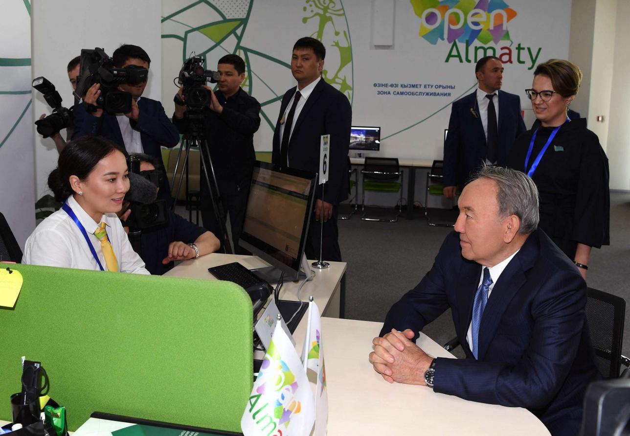 """Глава государства отметил важность программы """"Цифровой Казахстан"""""""