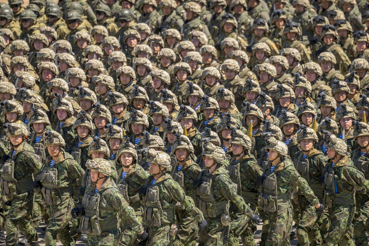 Окончание Боевого парада
