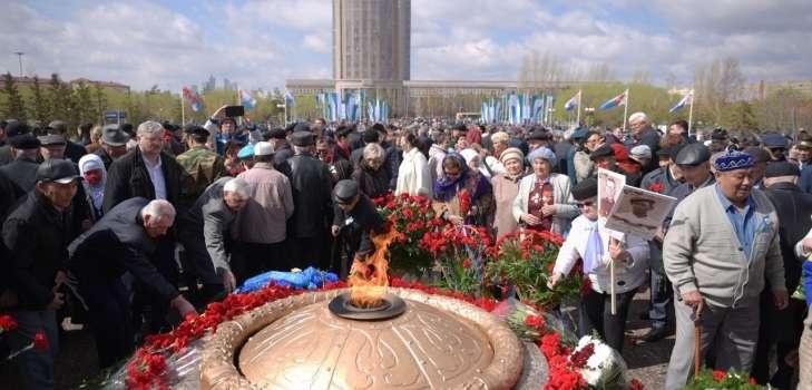 Ветераны почтили память павших солдат