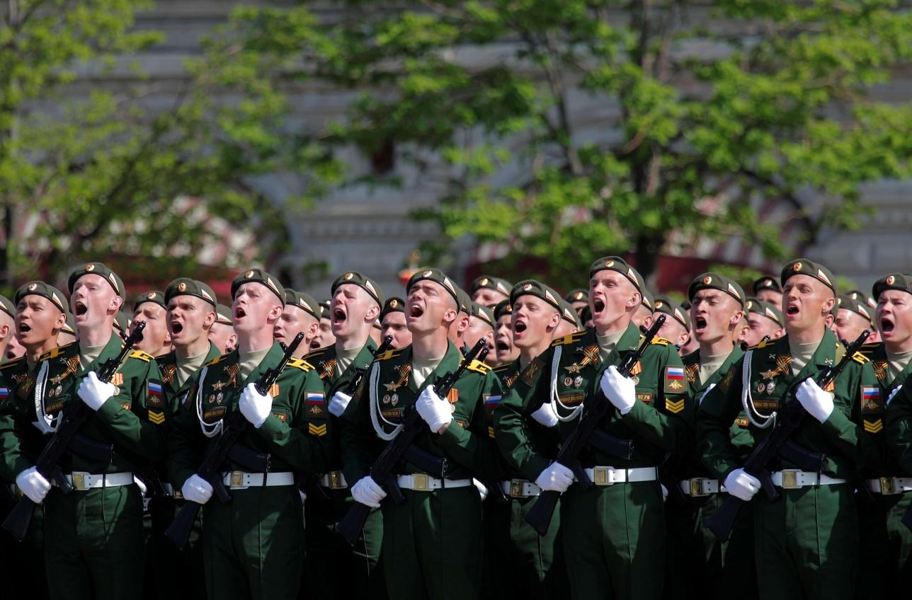 Москва, 9 мая 2018 года
