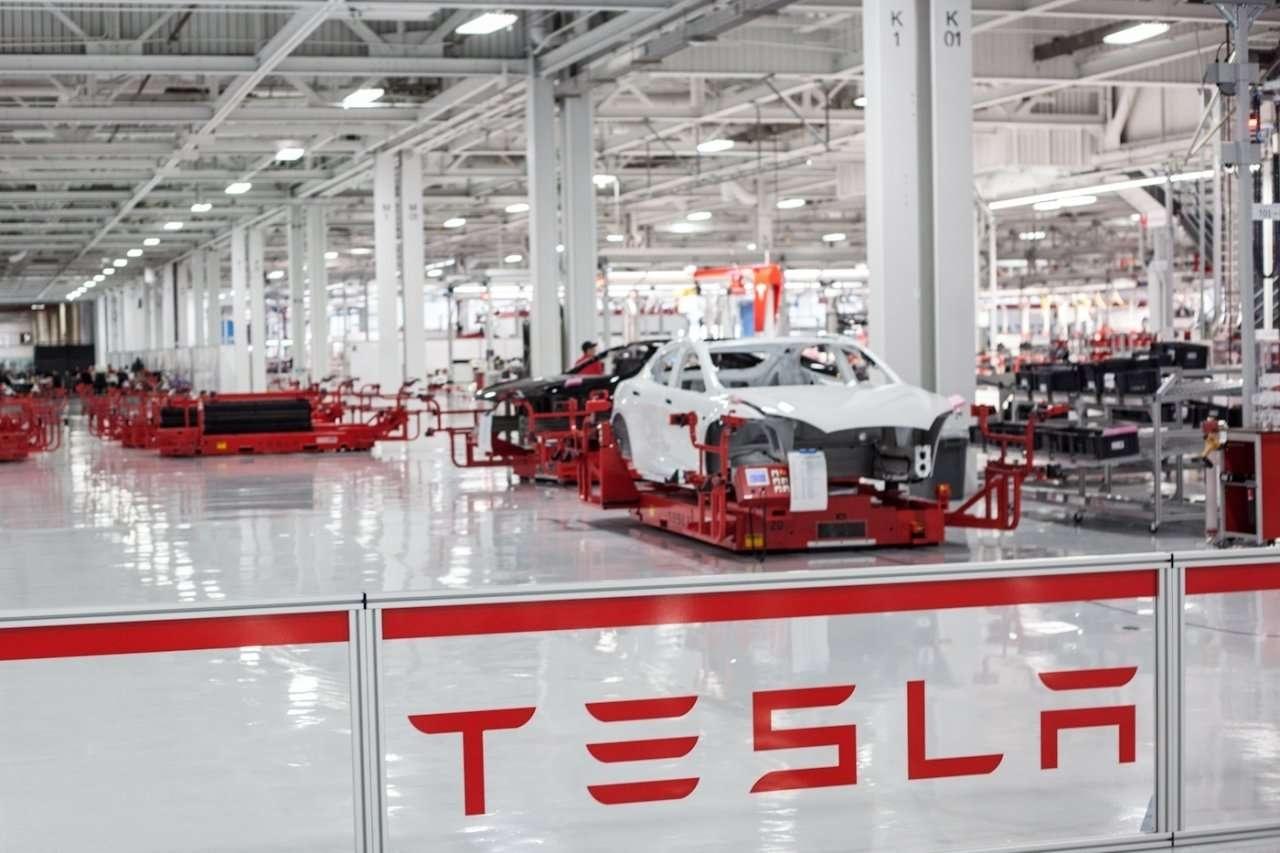 Завод Tesla в специальной экономического зоне штата Невада