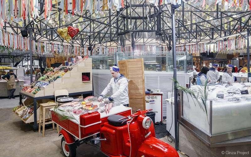 Даниловский рынок после реконструкции