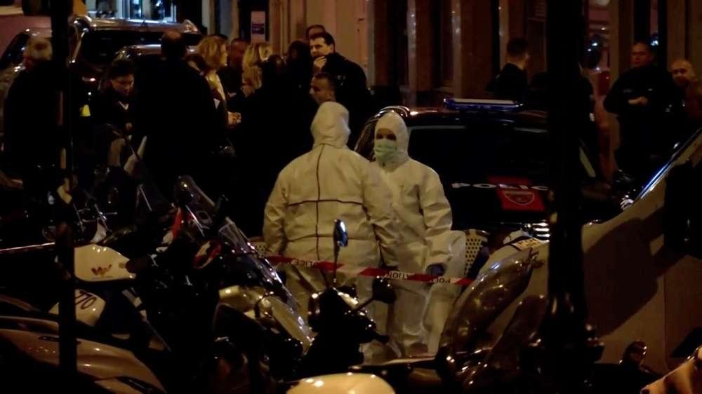 На месте атаки в Париже