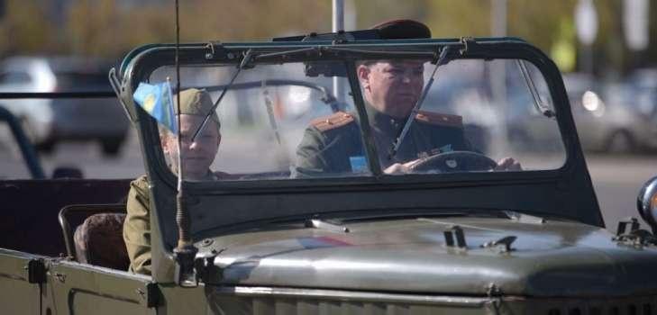 """Мото-автопробег """"Победа без границ"""" стартовал в Шымкенте"""