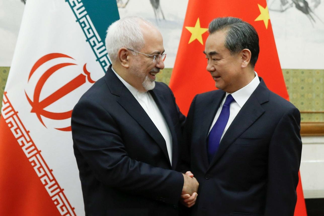 13 мая Джавад Зариф прибыл в Пекин