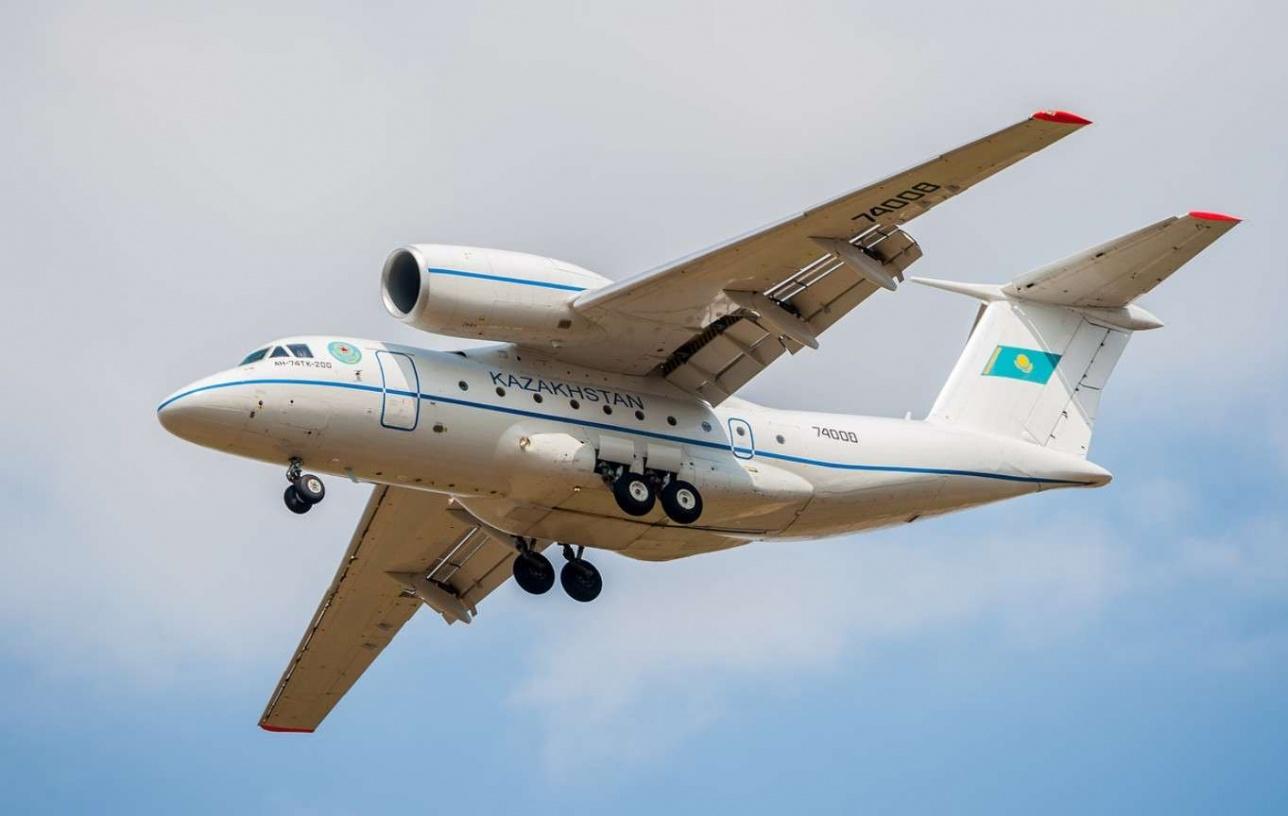 Похожий самолёт есть у пограничной службы Казахстана