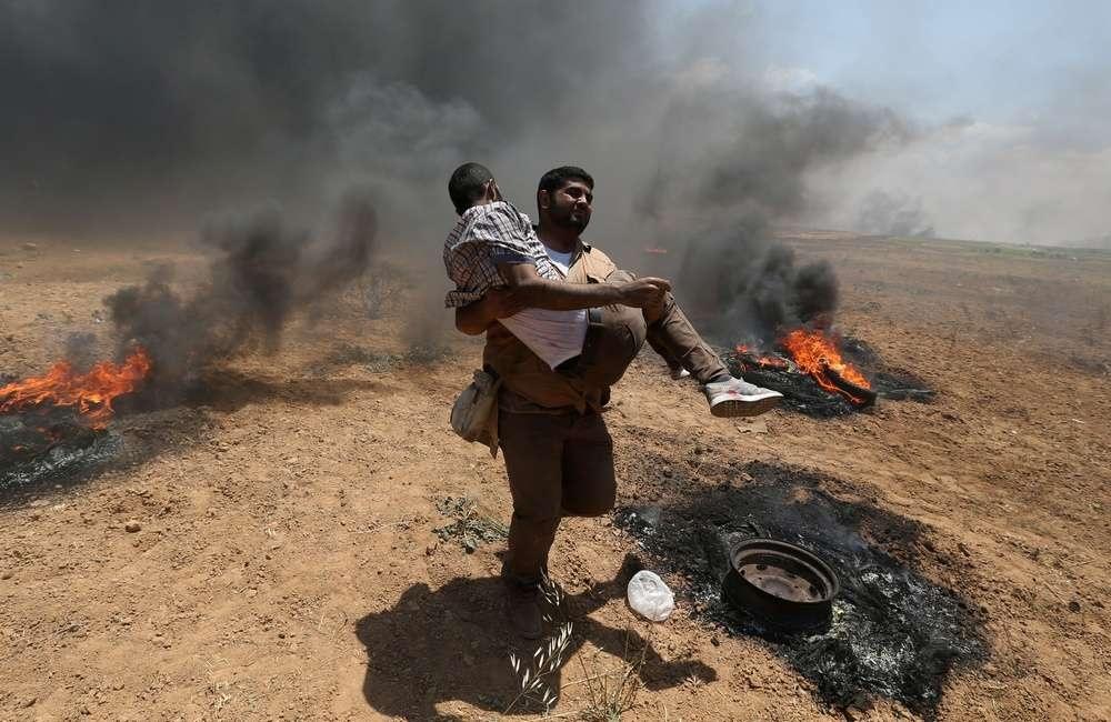СМИ сообщают о 50 убитых и тысячах раненых палестинцах