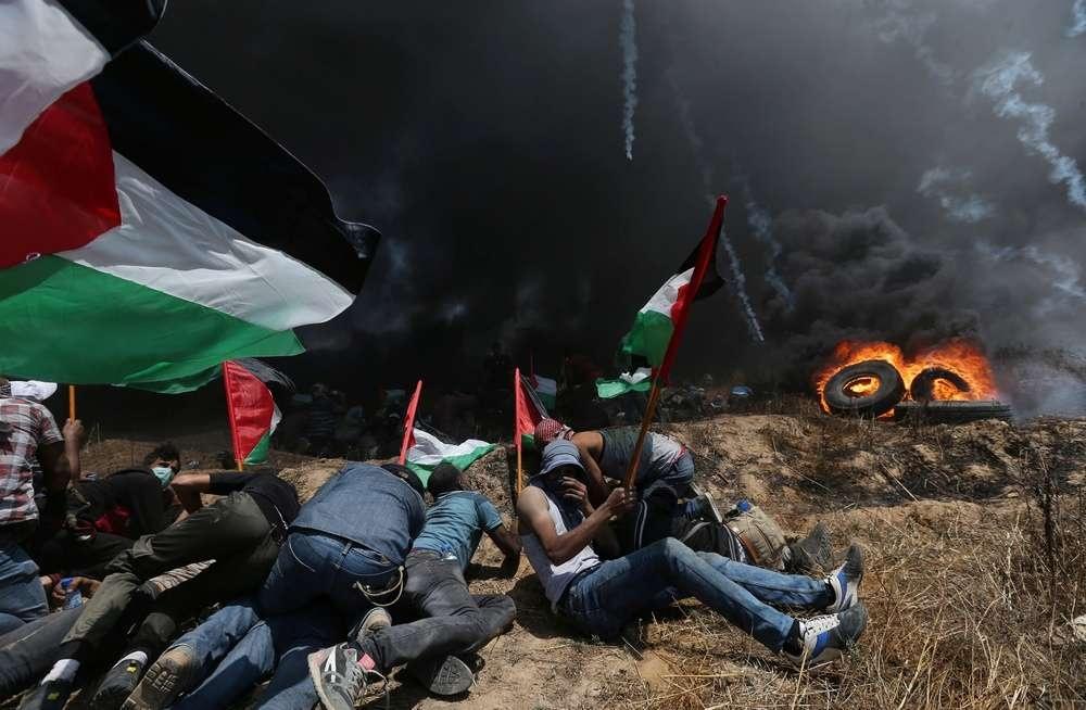 Столкновения в секторе Газа
