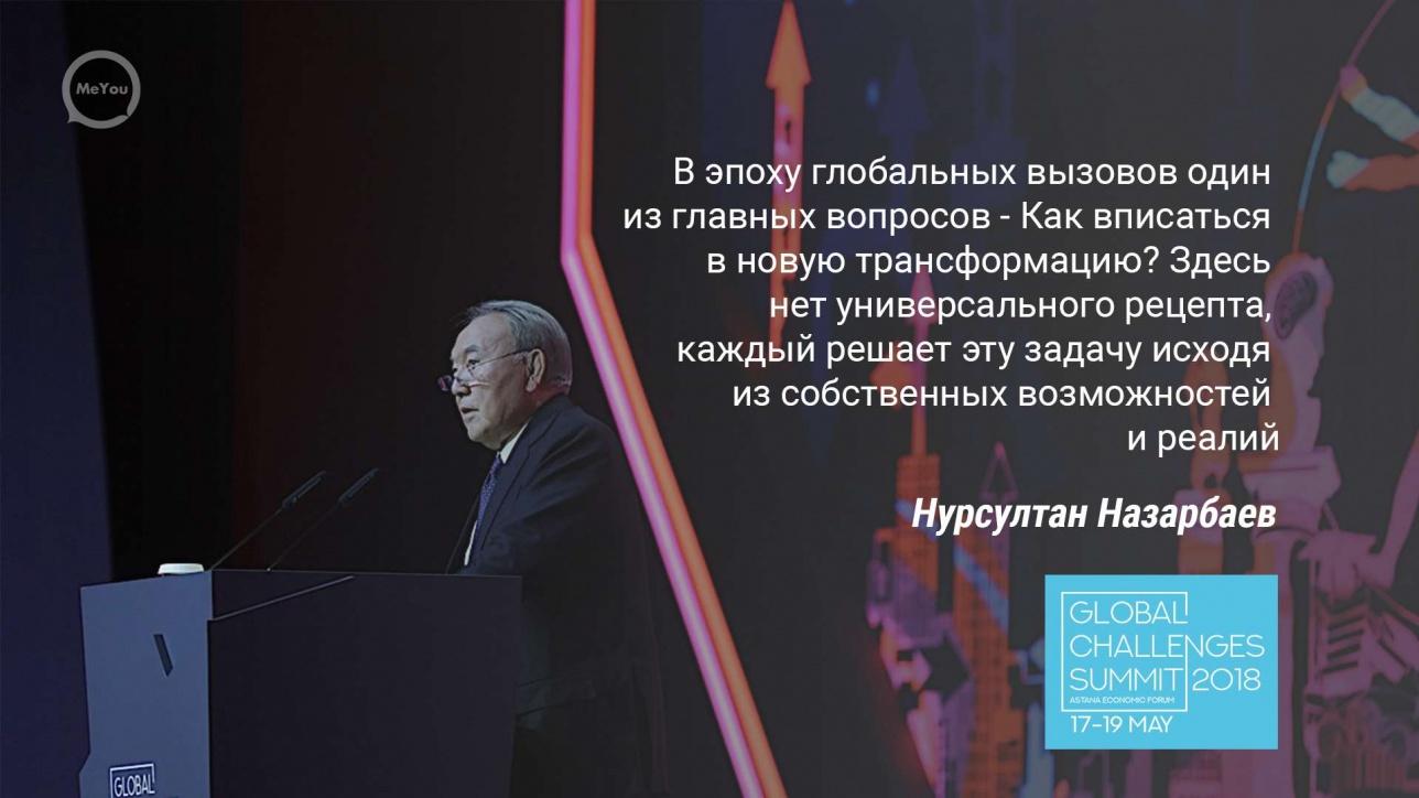 Нурсултан Назарбаев открывает Астанинский экономический форум