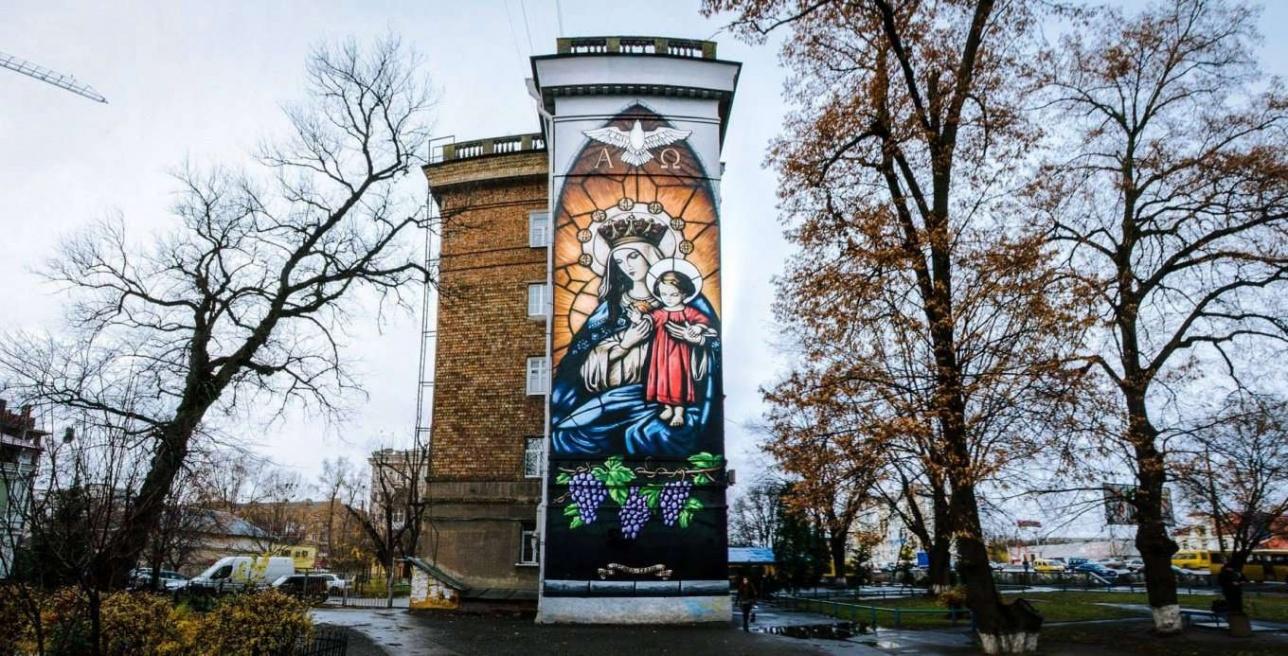 Муралы Киева
