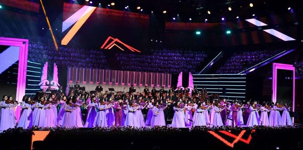 В программе концерта прозвучали популярные произведения казахских и зарубежных композиторов