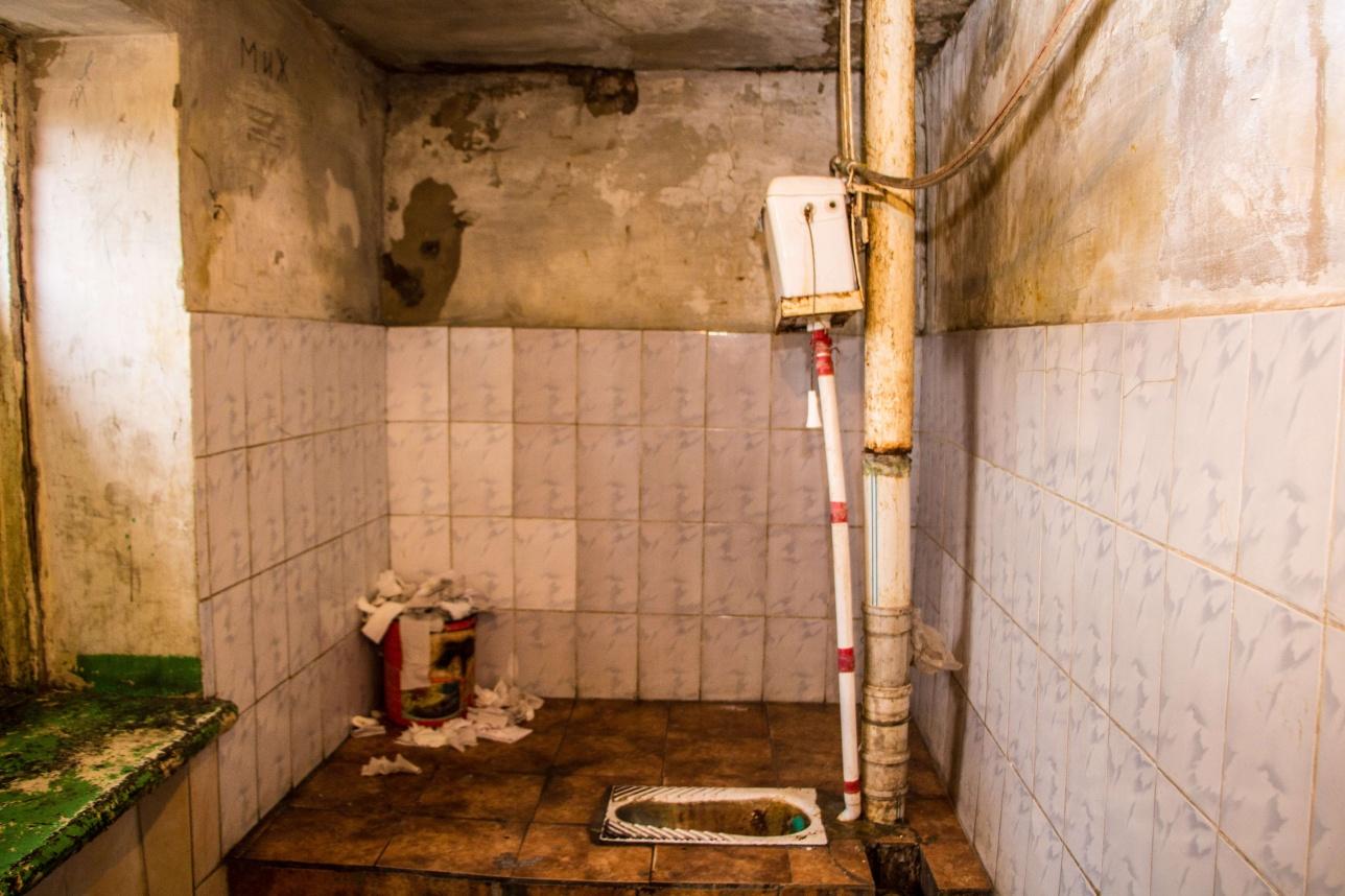 Общий туалет на этаж