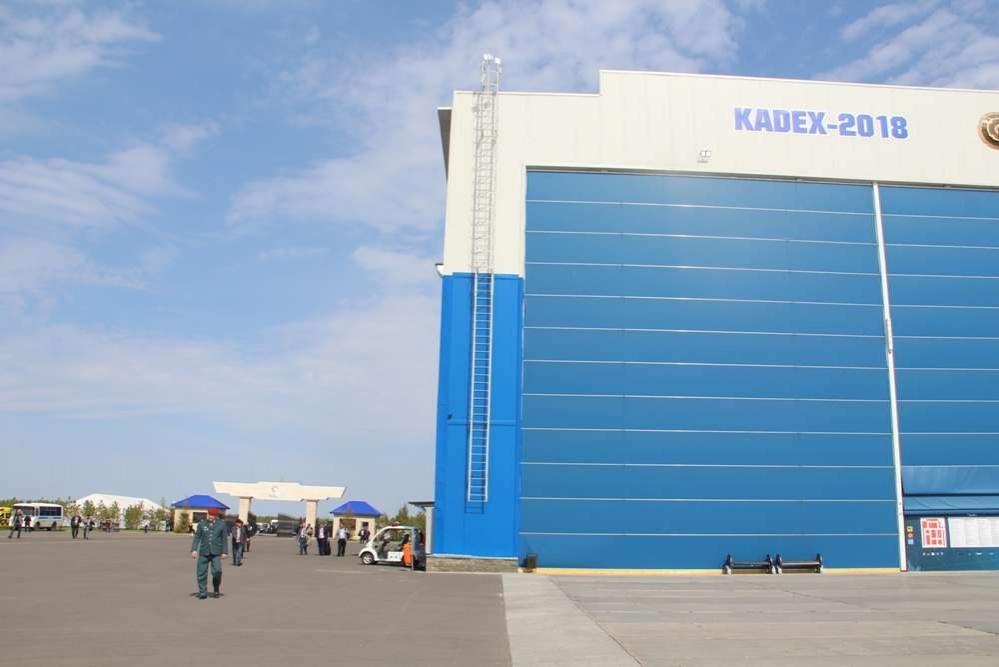 Инцидент произошёл около российского павильона на входе у выставки