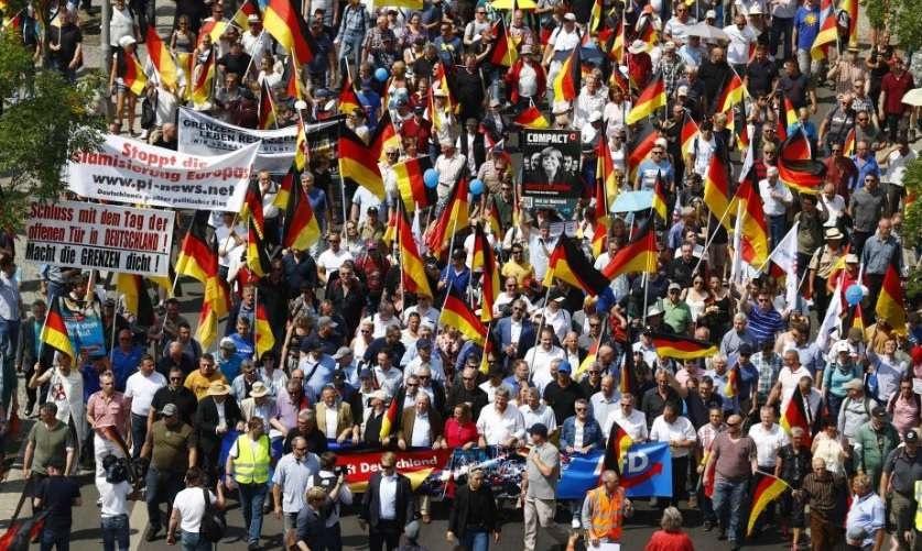 Противники миграционной политики правительства