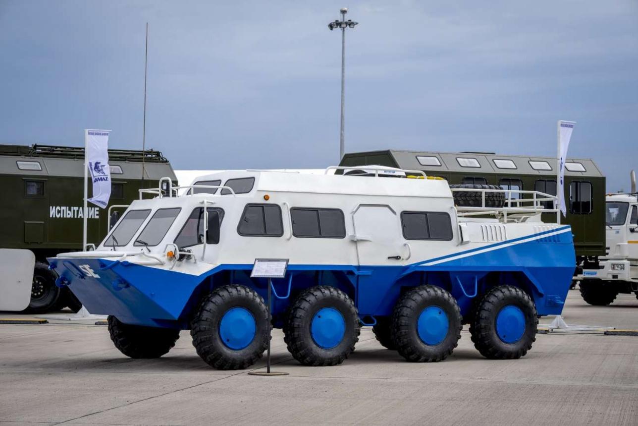 Вездеход на базе БТР-70