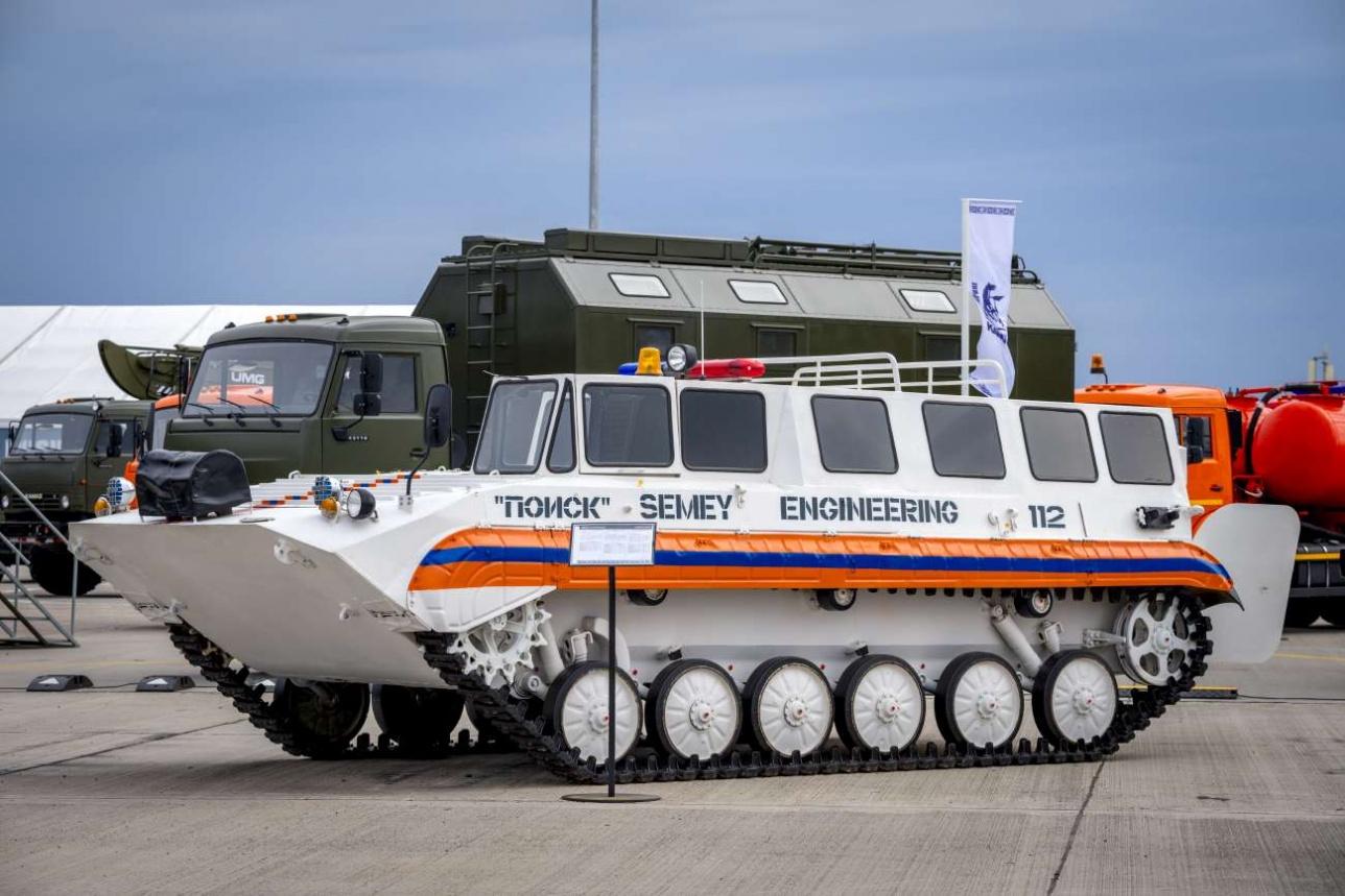 Поисково-спасательная машина на базе БМП-1 для МЧС