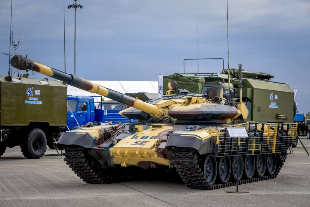Модернизированный танк Т-72 KAE